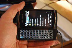 MWC Sony Ericsson Vivaz Pro 03