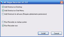 MX Skype Recorder screen2