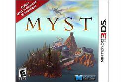 Myst 3DS - pochette