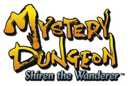 Mystery Dungeon : Shiren the Wanderer   logo