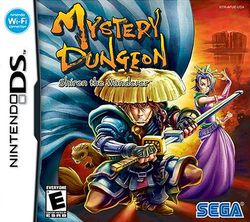 Mystery Dungeon : Shiren the Wanderer   pochette