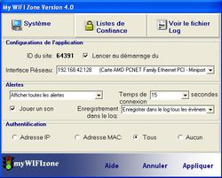 myWIFIzone Internet Access Blocker screen2