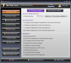 Mz Vista Force screen 2