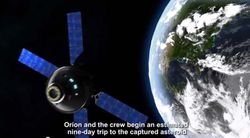 NASA astéroïde espace 1