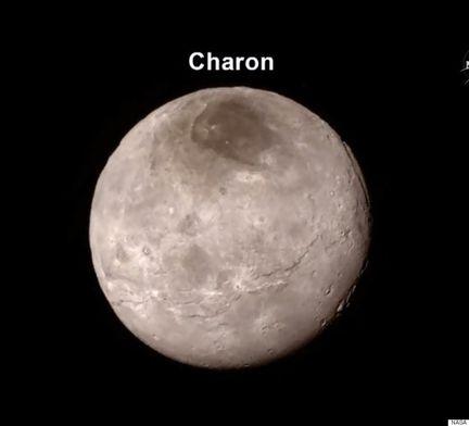 NASA Charon Pluton