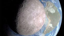 NASA face cachée de la lune