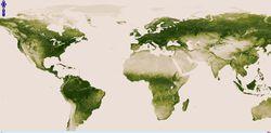 NASA NOAA végétation