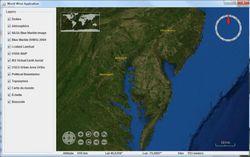 NASA World Wind Java SDK screen2