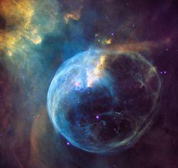 nébuleuse Bubble 1