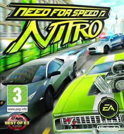 Need for Speed : Nitro - pochette