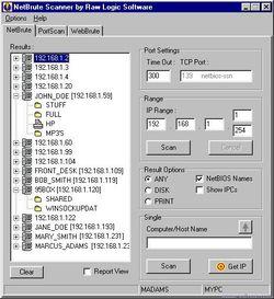 NetBrute Scanner