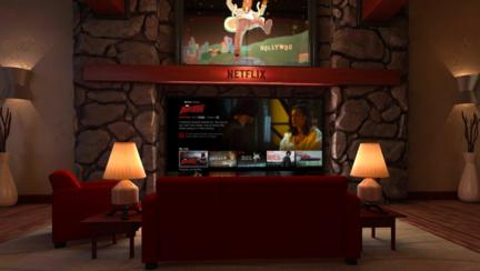 Nouvelle application officielle pour la réalité virtuelle — Netflix VR