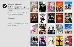 Netflix sélection