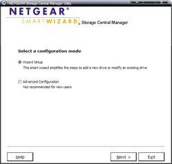 Netgear SC101T Wizard