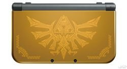 New 3DS Hurule Gold Edition