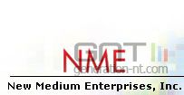 New medium enterprises logo lecteur vmd