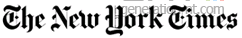 New york times logo png
