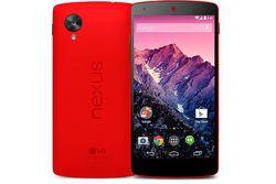 Nexus 5 rouge vignette
