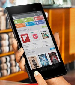 Nexus 7 publicité
