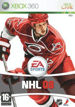 NHL 08   jaquette