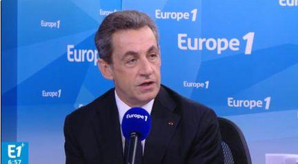 Nicolas Sarkozy Europe 1