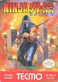 Ninja Gaiden   Pochette