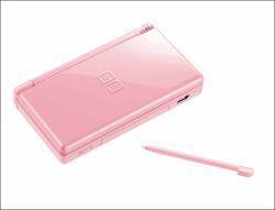 Nintendo DS lite pink 3
