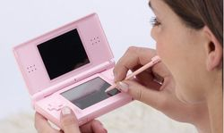 Nintendo DS lite pink 4