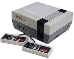Nintendo NES console