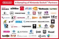 Nintendo Switch - partenaires