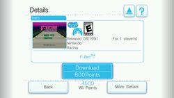Nintendo Wii   Console Virtuelle   Image 2