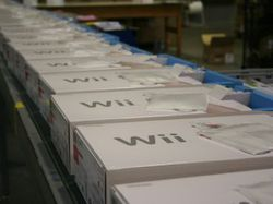 Nintendo wii stock image 1
