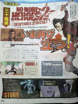 No More Heroes 2 : Desperate Struggle - scan 1