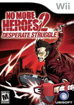 No More Heroes : Desperate Struggle - pochette