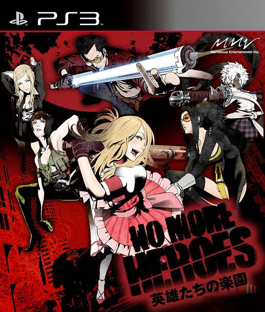 No More Heroes : Heroes Paradise - pochette