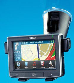 Nokia 550 auto navigation
