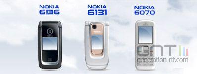 Nokia 6131 6136 6070