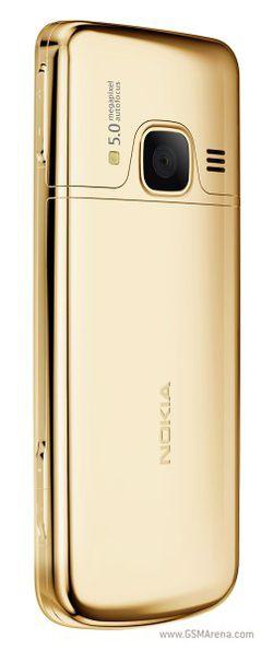 Nokia 6700 classic Gold Edition arrière