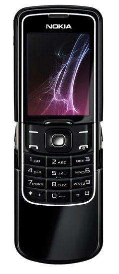 Nokia 8600 ouvert