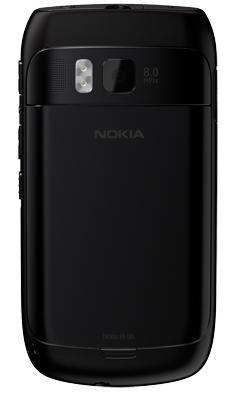 Nokia E6 arrière
