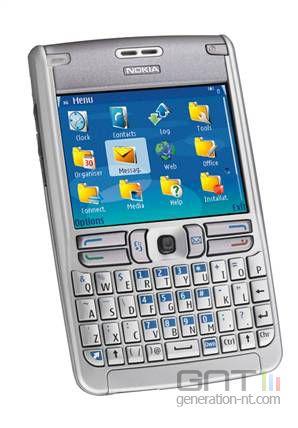 Nokia e61 e62 smartphone