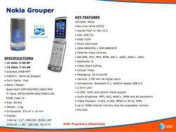Nokia Grouper