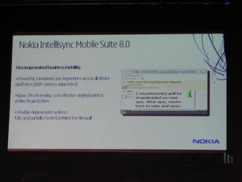 Nokia intellisync 8 0