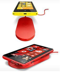 Nokia recharge sans fil Qi