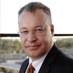 Nokia Stephen Elop logo pro