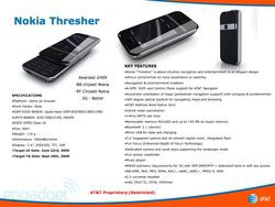 Nokia Thresher