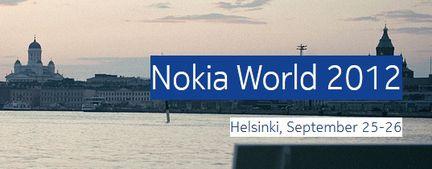 Nokia World 2012 Helsinki