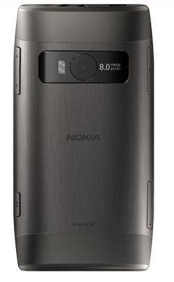 Nokia X7 arrière