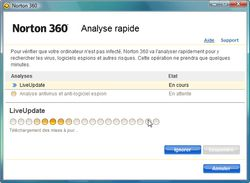 Norton 360 analyse rapide