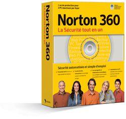 Norton 360 boite